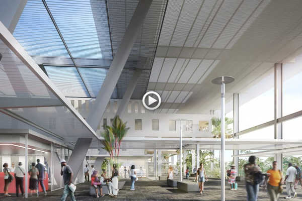 Kaupunki - Centre hospitalier universitaire, Pointe-A-Pitre Abymes (animation) (2012)
